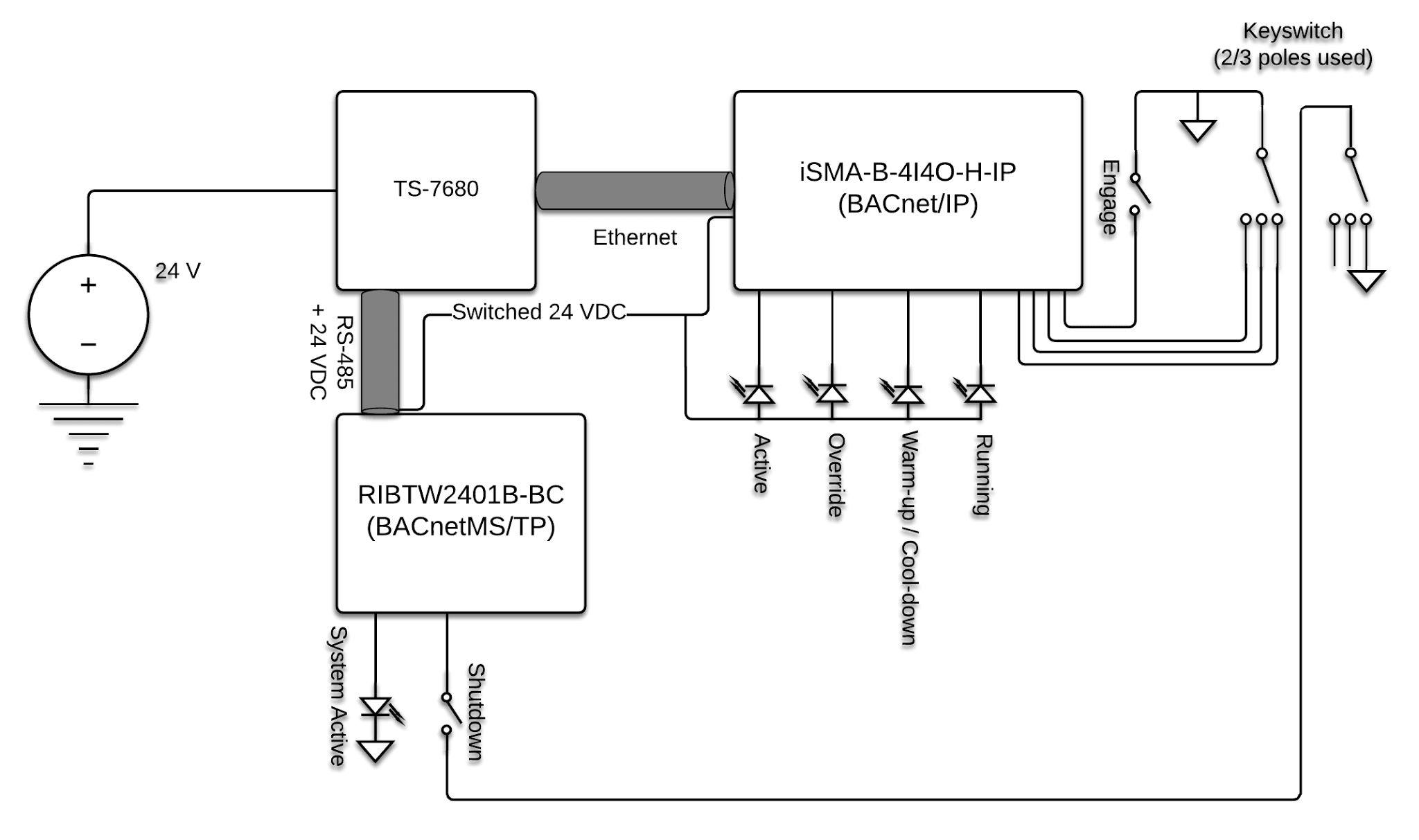 Analog V Bacnet Wiring Diagram